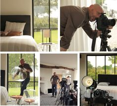Behind the scenes - photography shoot of our Ultima by Beka® boxspring collection. #beka #boxspring #bed