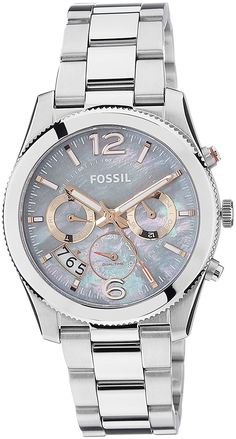 Fossil Women's ES3880 Stainless Steel Bracelet Watch >>> Find out more about the great watch at the image link.