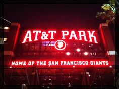 AT&T Park, Home of the San Fransisco Giants