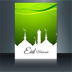 Eid Mubarak Greeting Card Beautiful Design  http://www.cgvector.com/50-vector-graphics-eid-greeting-card-and-wallpaper/