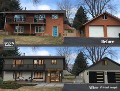 House Siding, House Paint Exterior, Exterior Paint Colors, Exterior Siding, Exterior House Colors, Home Exterior Makeover, Exterior Remodel, Modern Exterior, Exterior Design