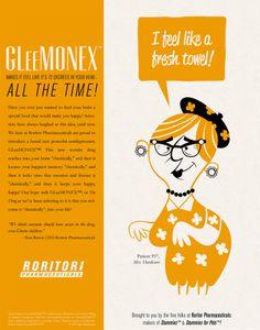 Doodles From My Noodle Art Blog: GLeeMONEX