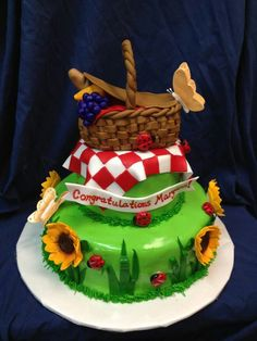 Picnic Themed Cake