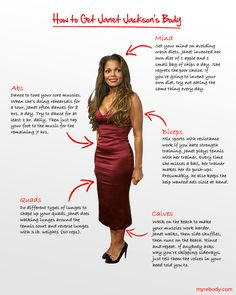 How to get Janet Jackson's body.