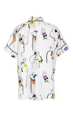Alberta Shirt by No. 21 Now Available on Moda Operandi