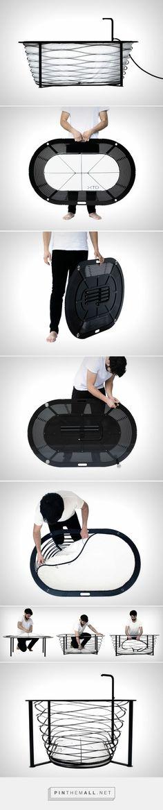 Bathtub = Thinner than your iPad | Yanko Design - created via…