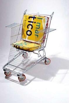 sedie carrello supermercato
