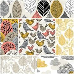 Bark and Branch Fat Quarter Bundle in Autumn