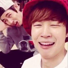 One of the main reasons why I fell in love with Jimin is because his laugh is legit twins with mine XD