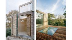 Minimalist .........   Slat House by Carl Turner Architects, London