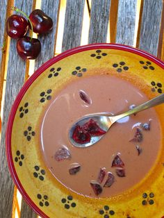 Raw Chilling Cherry Soup