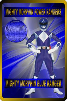 Mighty Morphin Blue Ranger by rangeranime on @DeviantArt