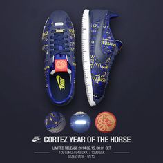 """Nike Cortez """"Year Of The Horse"""" Nike Shoes For Sale 41f7aef82d"""