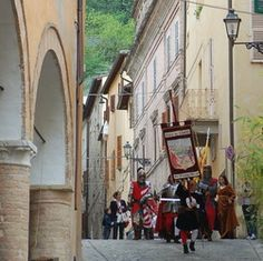 San Severino Marche. Palio dei Castelli