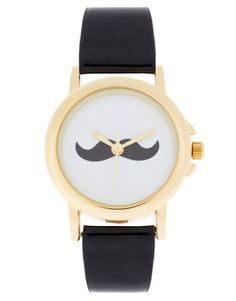 Moustache Face Watch