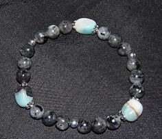 Stunning Women's Healing Amazonite and Labradorite by LotusReigns, $35.00