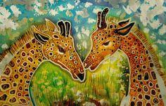 Image detail for -Batik Giraffe by ~dawndelver on deviantART Giraffe Photos, Giraffe Art, Batik Art, Love Craft, Silk Painting, Elementary Art, Animals Beautiful, Art Lessons, Art Projects