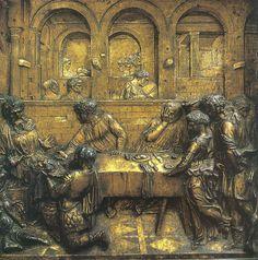 Hostina Herodova (po 1435) Donatello