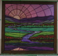 23rd Psalm Stained Glass Murals | Inspiration