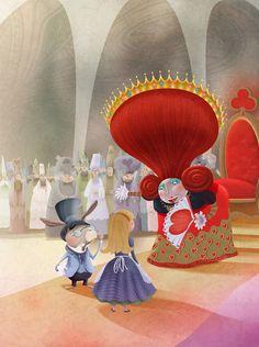Alice In Wonderland by Patricia López Latour [©2012]