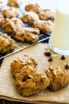#GF Trail Mix Quinoa Cookies