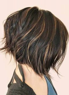 Stylish Short Haircuts For Women with Color Shades Ideas