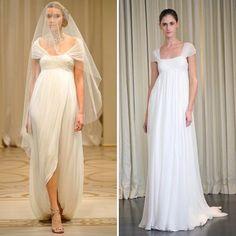 9 modelos de vestido de noiva para gestantes   As Lembrancinhas de Casamento