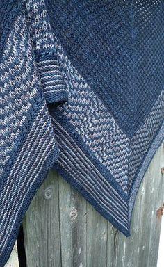 Ravelry: Ripple Rock Shawl pattern by Judy Marples