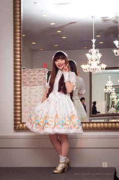 Model: Jae Lee, Photographer: Nelson Lau Jae Lee, Main Theme, Fashion Labels, Lolita Fashion, Ponytail, Pretty Girls, Fashion Show, Flower Girl Dresses, Wedding Dresses