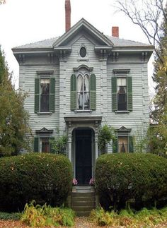 ( there used to be many houses like this one in my town when I was a kid, but now most of them have been torn down )