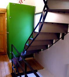 stair in steel