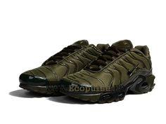 wholesale dealer a9701 2a2d1 Nike Air Max Plus Tuned 1 Chaussures Nike Sportswear Pas Cher Pour Homme  Vert olive délavé