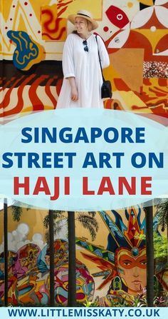 Singapore Street Art: Kampong Glam and Haji Lane – streetart Singapore Travel Tips, Visit Singapore, Singapore Guide, Singapore Trip, Singapore Sling, Kuala Lumpur, Haji Lane Singapore, Places To Travel, Travel Destinations