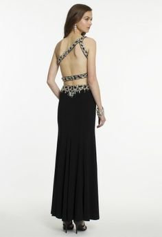 Two Piece One Shoulder Prom Dress from Camille La Vie and Group USA