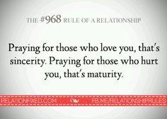 Regla #968 de las relaciones