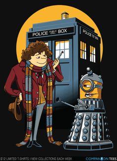 Dr. Who/Despicable Me mashup