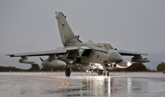 Imagery of #RAF Tornado GR4's on return to RAF Akrotiri Cyprus after armed mission in support of #OPSHADER.