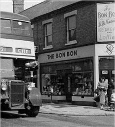 The Bon Bon on Stoney Stanton Road Michael Carter, Coventry City, Photographs And Memories, West Midlands, Buses, Pictures, History, Trains, Fields
