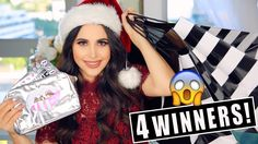 HUGE HOLIDAY GIVEAWAY 2016 | 4 WINNERS @ShopperMandy