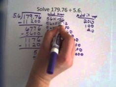 5.NBT.7 Dividing with Decimals