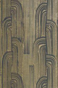 CRESCENT WALLPAPER IN GOLD/IVORY #kellywearstler #wallpaper #design