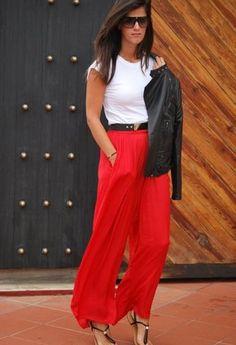 zhyskha | vestir en rojo | Chicisimo