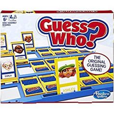 Buy Now Hasbro Guess Who Classic Game Features tabletop game boards and game pieces Players try to guess each other's mystery character For 2 players Best Games, Fun Games, Games To Play, Family Game Night, Family Games, Cluedo, The Guess Who, Board Games For Kids, Game Boards