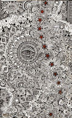 Radiant Energy Eye Mandala by lauraborealisis on DeviantArt