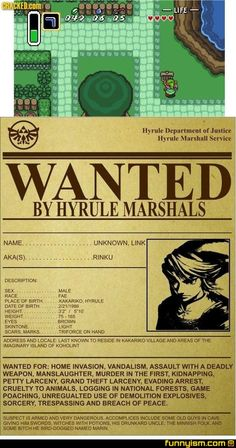 The true story of Zelda, A Link to the Past.