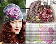 Trendy Ideas For Knitting Charts Kids Crochet Hats Baby Knitting Patterns, Crochet Mittens Pattern, Crochet Headband Pattern, Crochet Kids Hats, Knitting Charts, Lace Knitting, Knitted Hats, Knit Crochet, Crochet Patterns