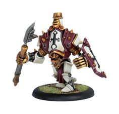 The Revenger is quite possibly the best warjack in Warmachine in terms of value for the point cost. Super-survivable!