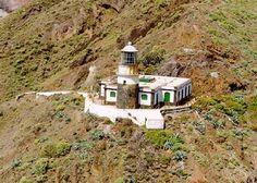 Punta de Anaga Light. Tenerife. Canary Islands. Spain