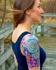 Love the colors   Tattoo Ideas Central