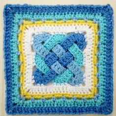 "celtic knot crochet   Celtic Knot – 8"" – Color Inspiration Muggins Magic Hang-Out"